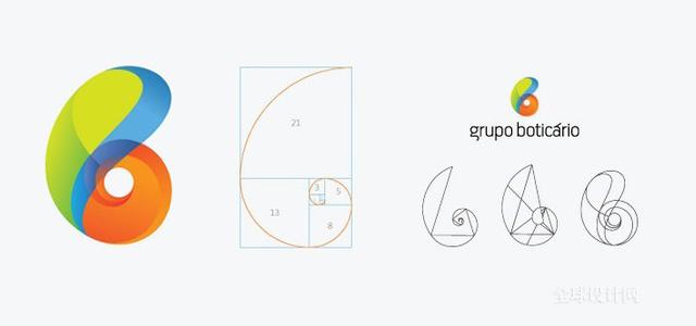 """logo中的""""黃金分割""""_子木設計-上海畫冊_包裝_logo_vi"""
