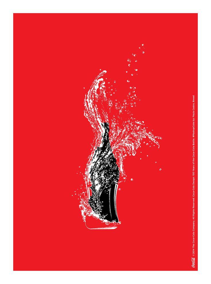 it服务外包_可口可乐经典玻璃瓶100岁海报作品_设计欣赏_上海南京设计公司 ...