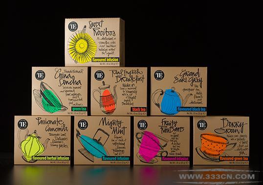 獨家秘制的茶葉品牌teahouse包裝創意設計_子木設計