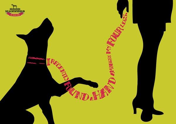 原创手绘插画-宠物狗上的创意设计欣赏_子木设计-上海