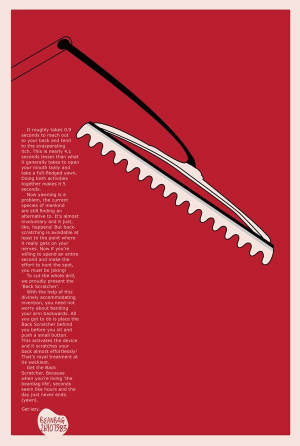 原创手绘插画-国外创意广告系列稿_子木设计-上海设计