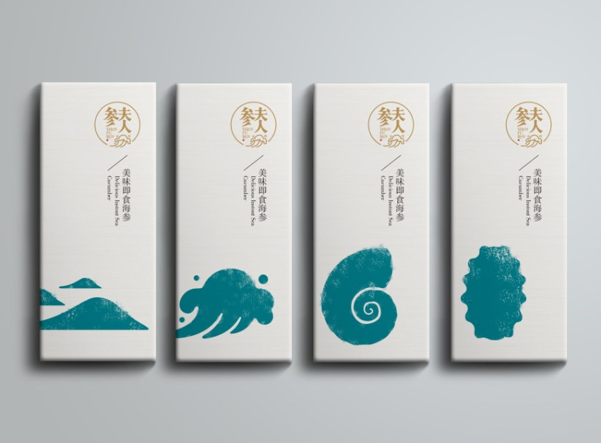 """上海包装设计-""""参夫人""""品牌包装设计"""