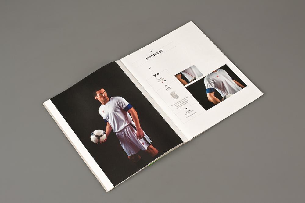 上海画册设计-mobel运动器材目录设计