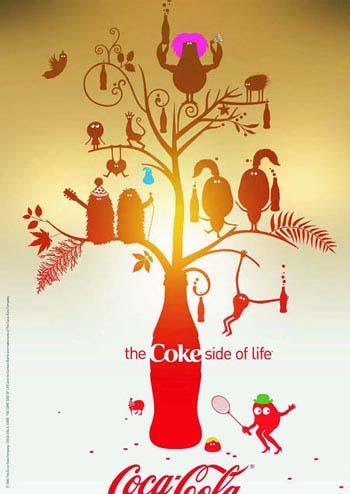 上海vi设计-可口可乐coke系列创意广告回顾