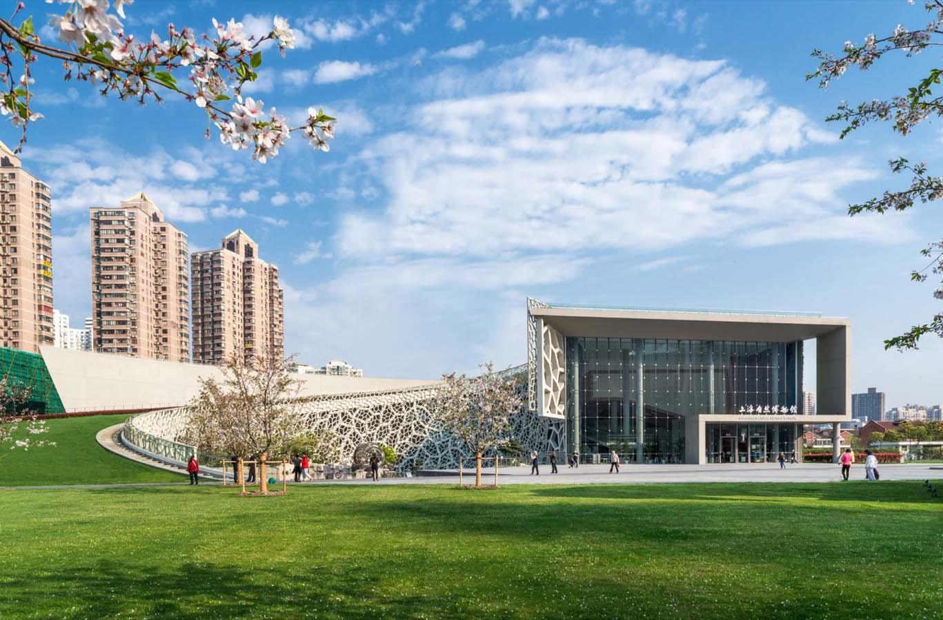 上海自然博物馆新馆shanghai natural history museum